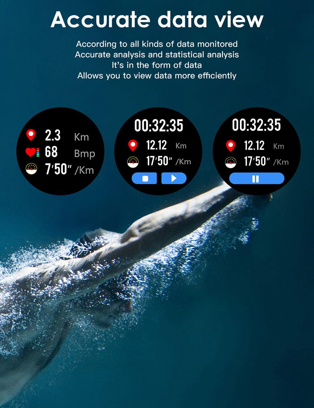 L8 Smart Watch ecg ppg heart rate blood press (24)