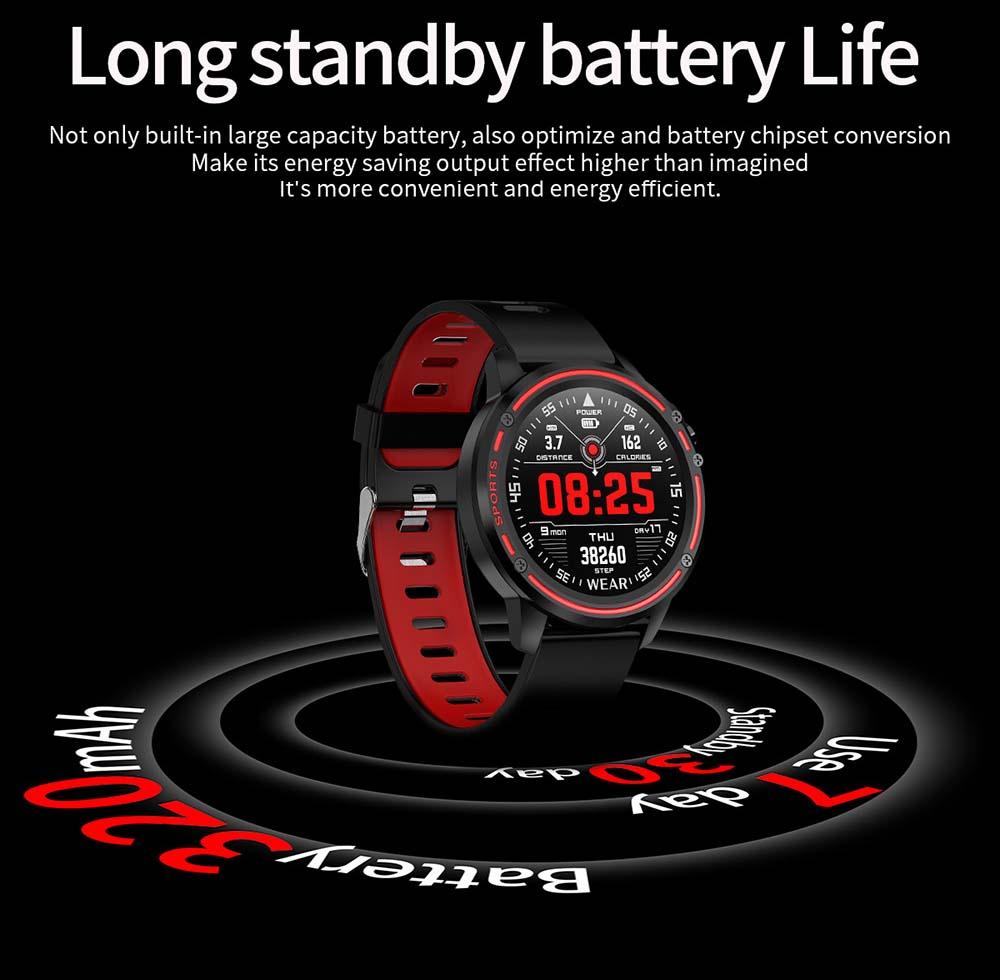 L8 Smart Watch ecg ppg heart rate blood press (27)