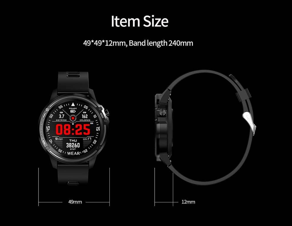 L8 Smart Watch ecg ppg heart rate blood press (28)