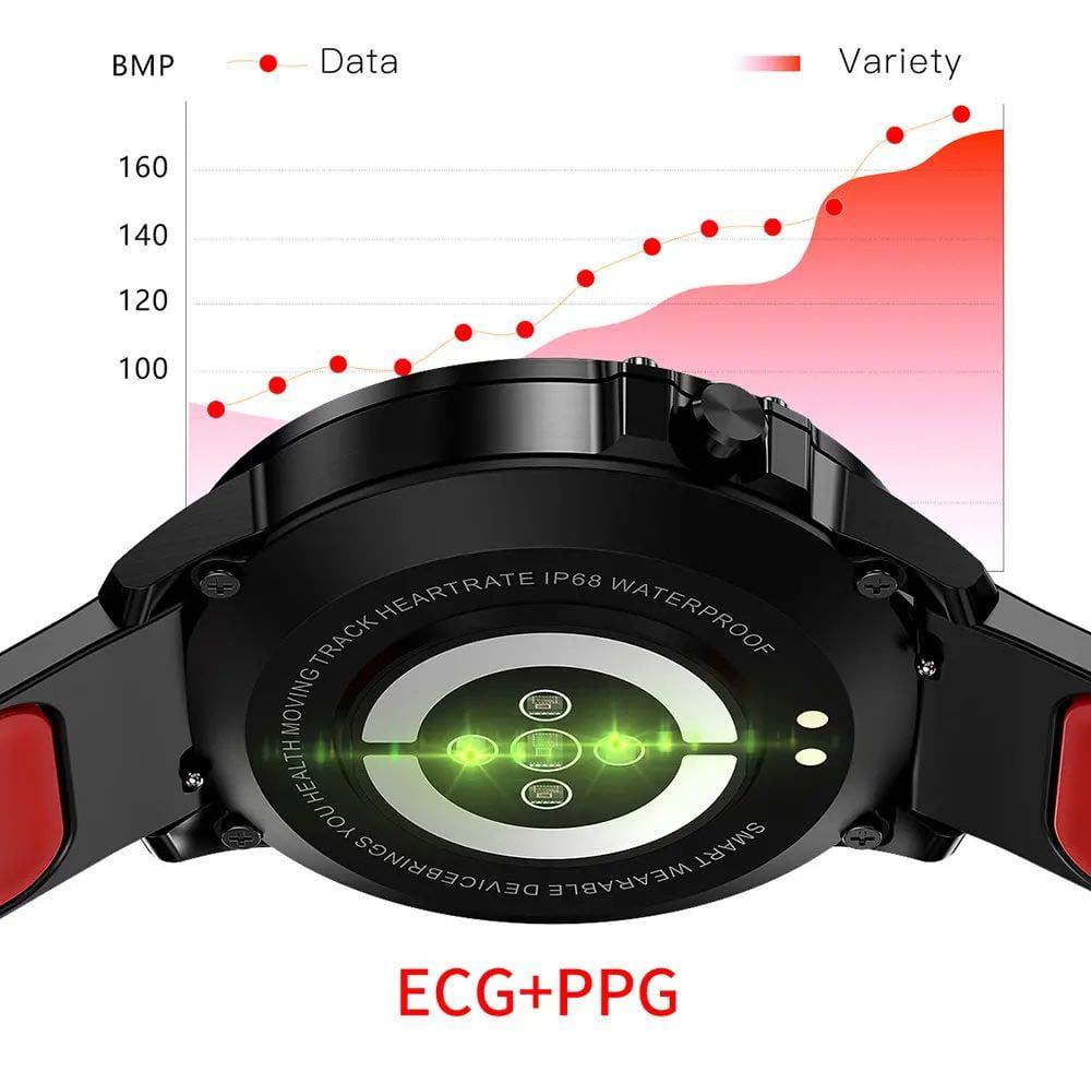 L8 Smart Watch ecg ppg heart rate blood press (29)