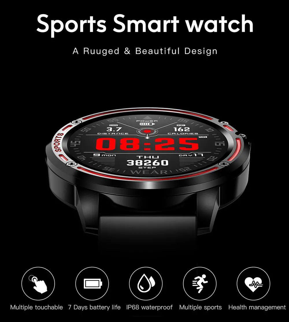 L8 Smart Watch ecg ppg heart rate blood press (9)