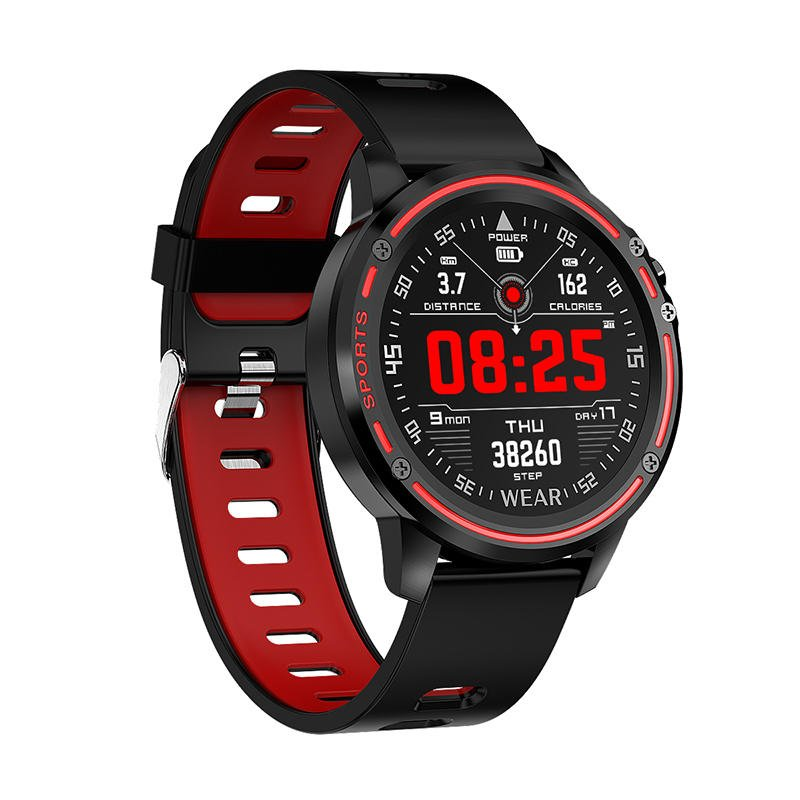 L8 Smart Watch ecg ppg heart rate blood press