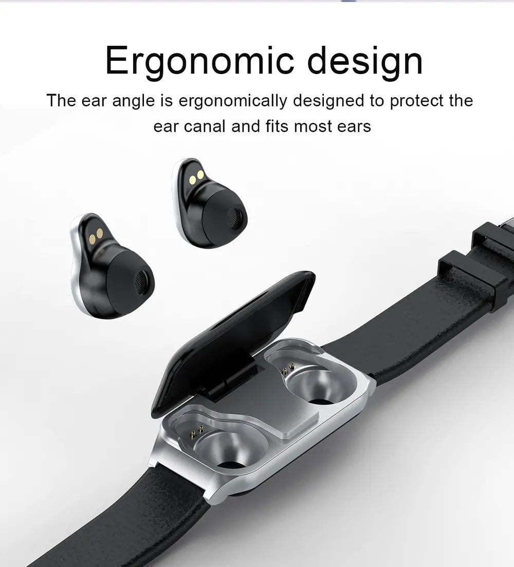 L818 bt5.0 intelligent noise reduction wireless earphone wristband (13)