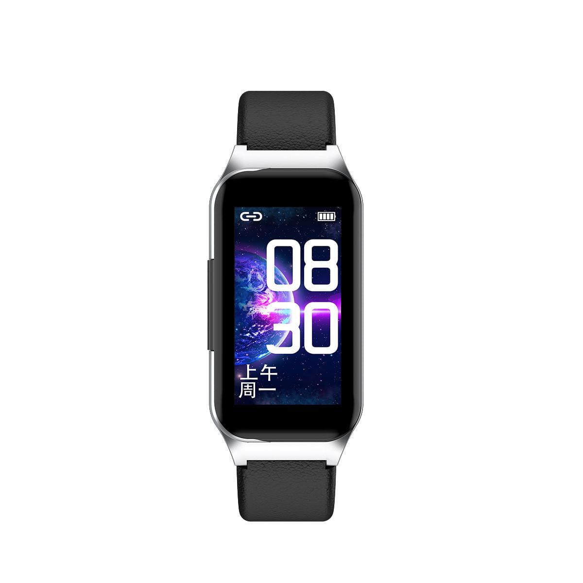Bakeey smartwatch L818 bt5.0 intelligent noise reduction wireless earphone wristband (18)