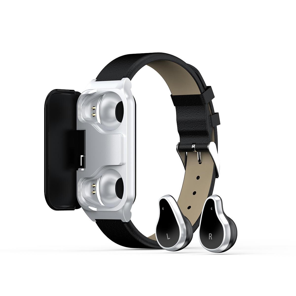 Bakeey smartwatch L818 smart watch bt5.0 intelligent noise reduction wireless earphone wristband (23)