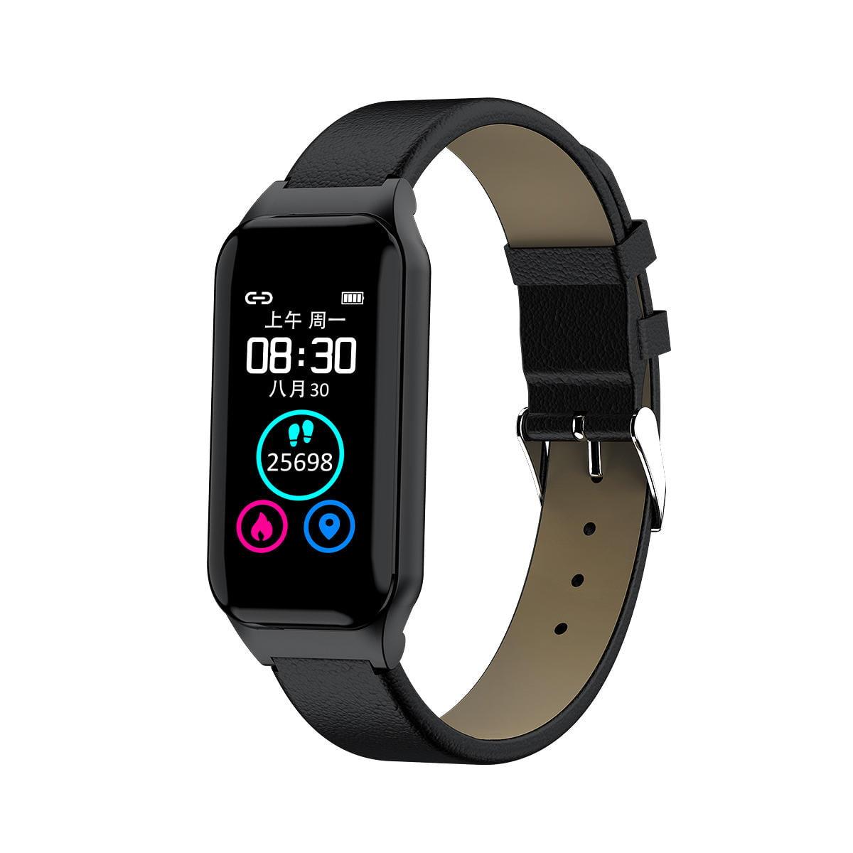 L818 bt5.0 intelligent noise reduction wireless earphone wristband (24)