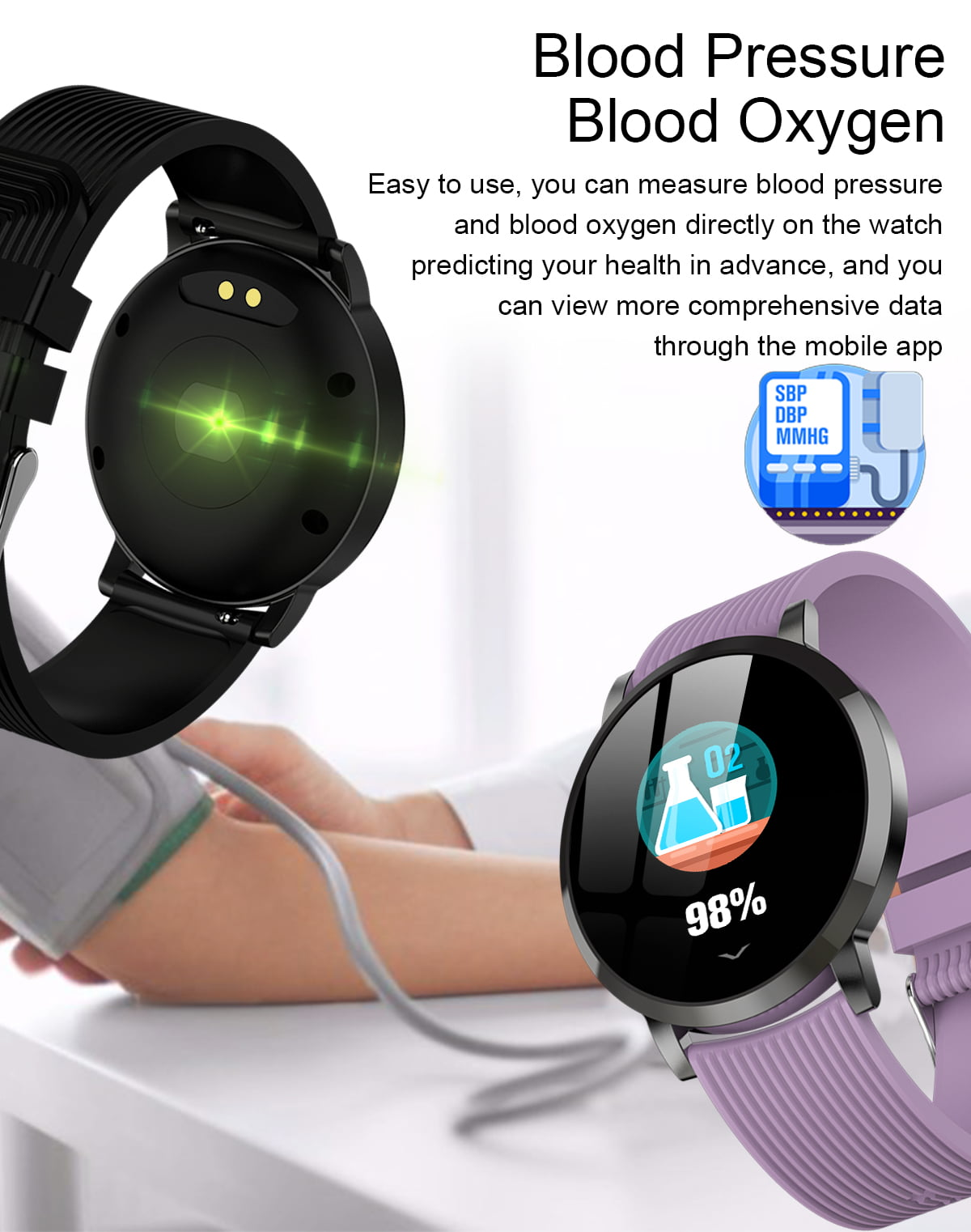 LV09 Smart Watch 1.3 inch custom dial real-time heart rate monitor (12)
