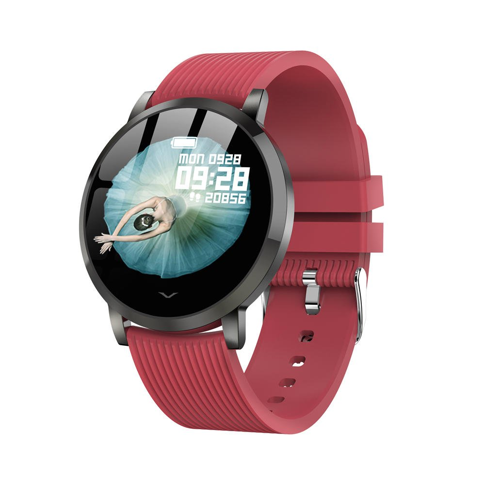Bakeey smartwatch LV09 1.3 inch custom dial real-time heart rate monitor (18)