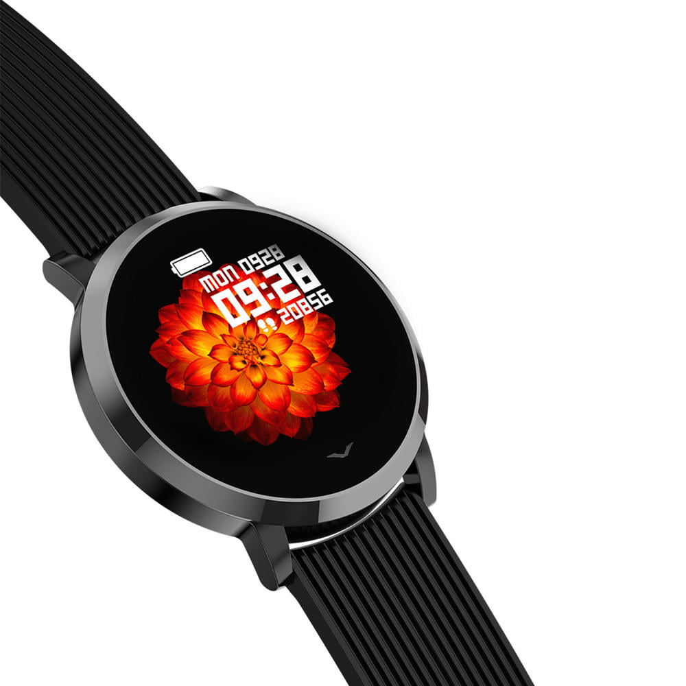 Bakeey smartwatch LV09 1.3 inch custom dial real-time heart rate monitor (7)