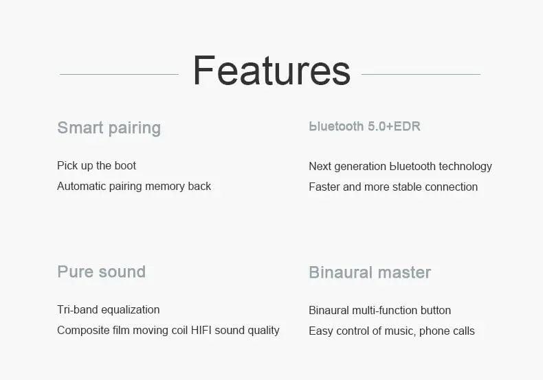 M1 TWS Earphone bluetooth 5.0 wireless earbuds (10)