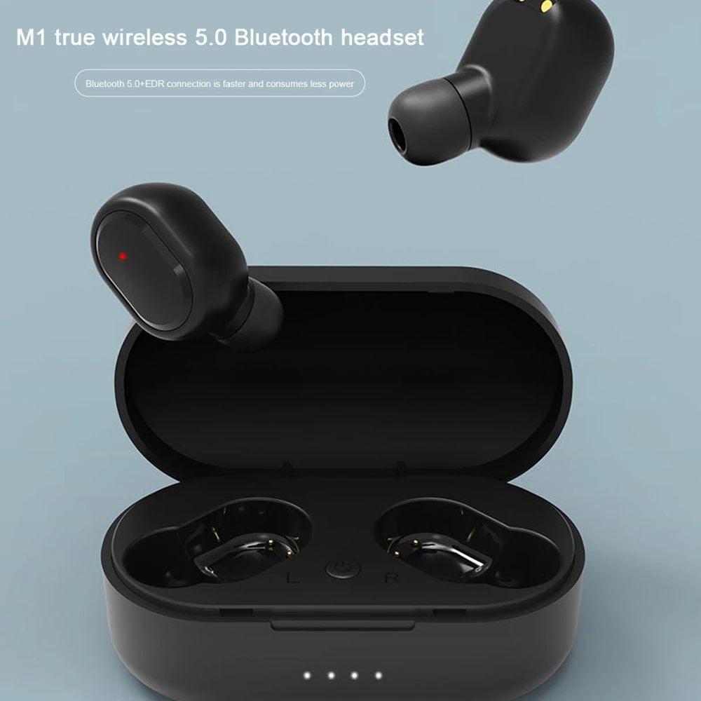 M1 TWS Earphone bluetooth 5.0 wireless earbuds (13)