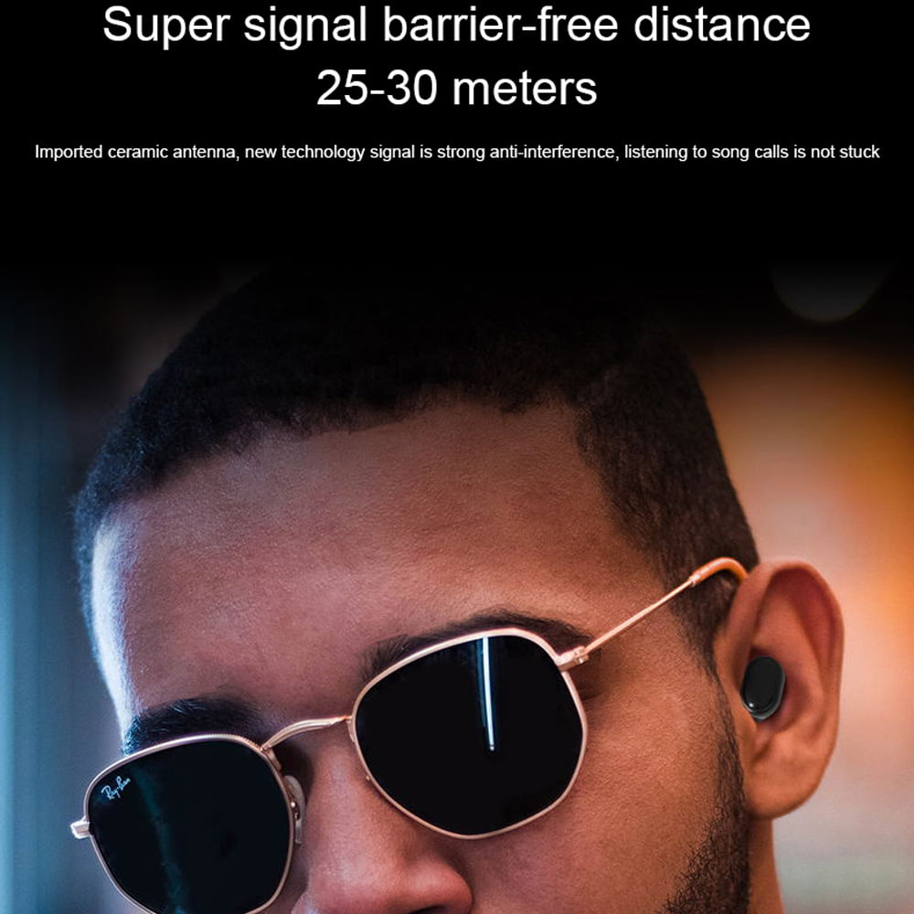 M1 TWS Earphone bluetooth 5.0 wireless earbuds (29)
