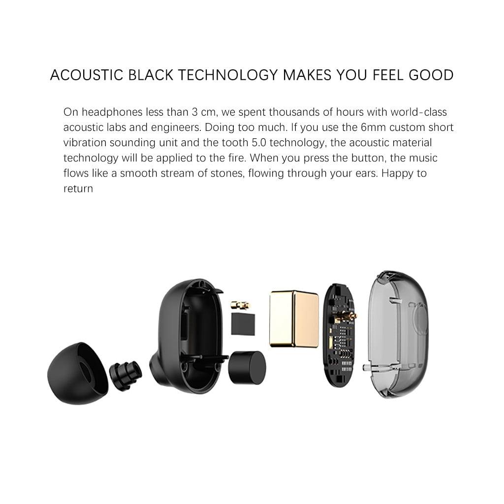 M13b tws bluetooth 5-0 earphone led display wireless earbud (11)