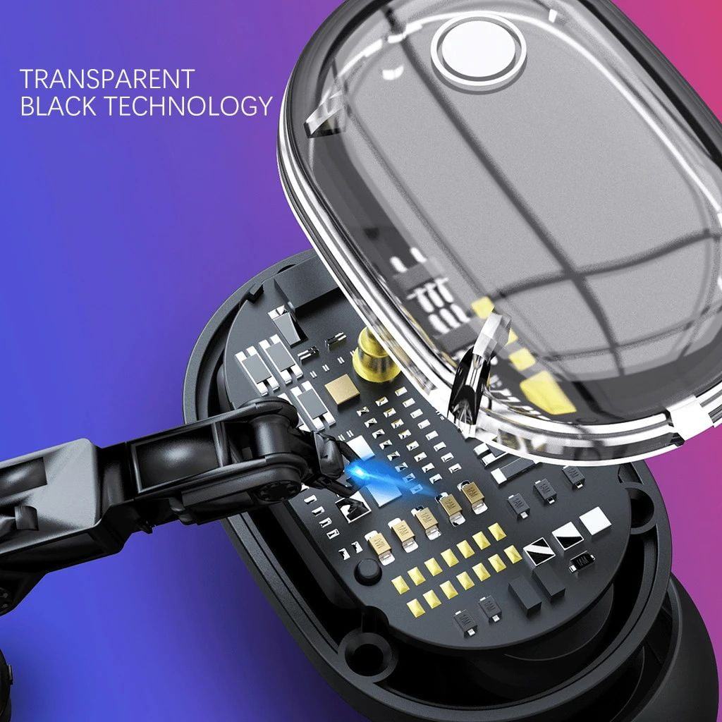 M13b tws bluetooth 5-0 earphone led display wireless earbud (17)