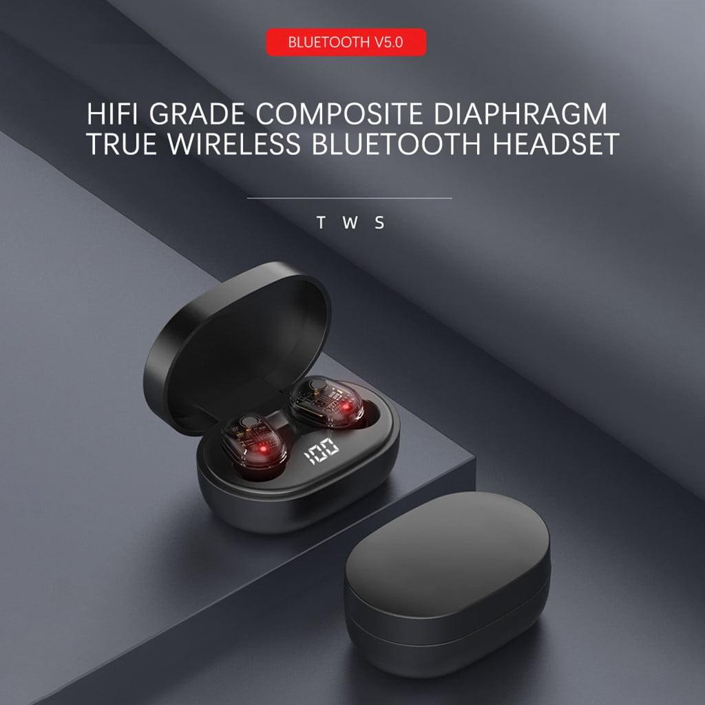 M13b tws bluetooth 5-0 earphone led display wireless earbud (4)