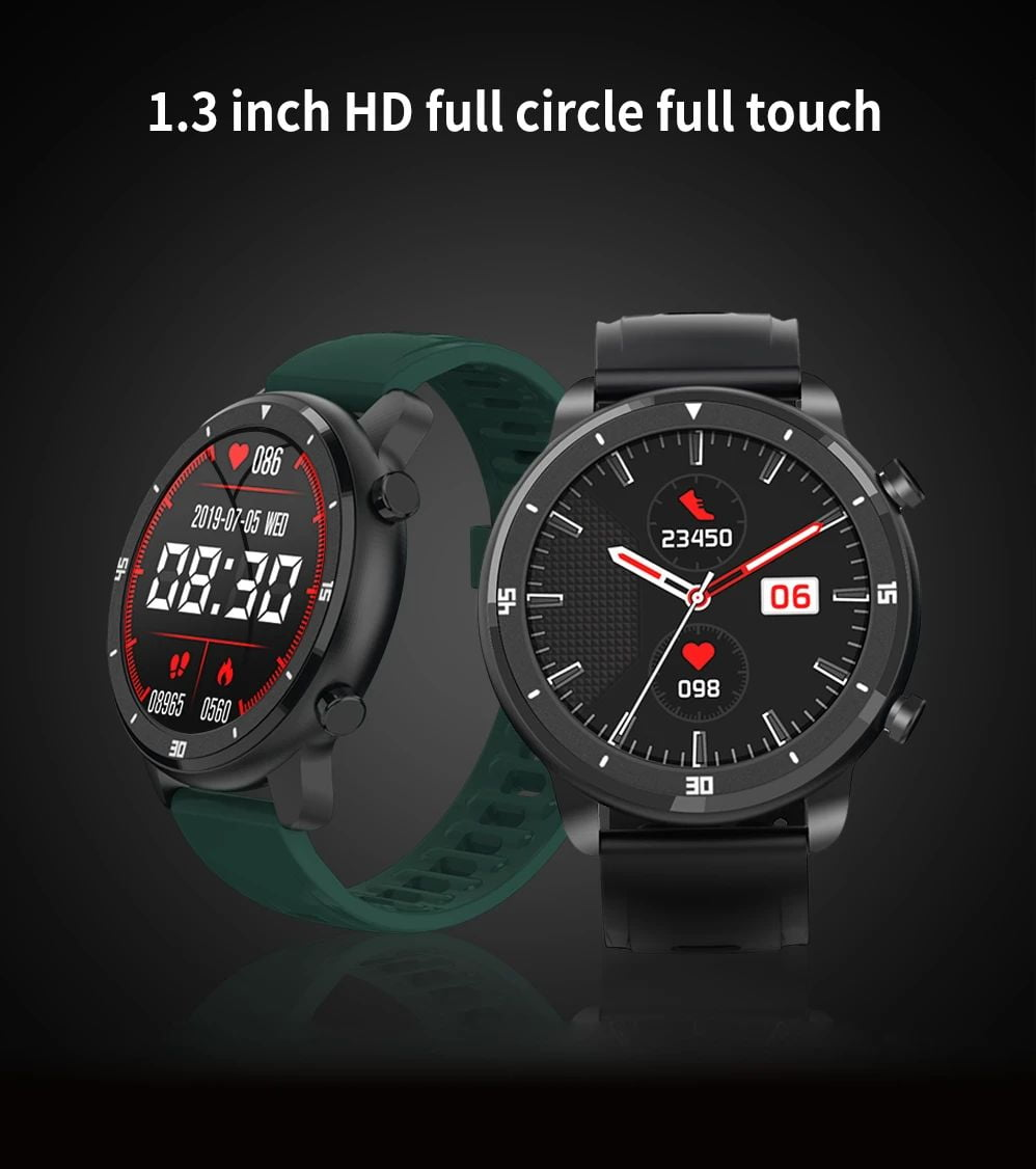 M37 full touch screen heart rate blood pressure monitor (10)