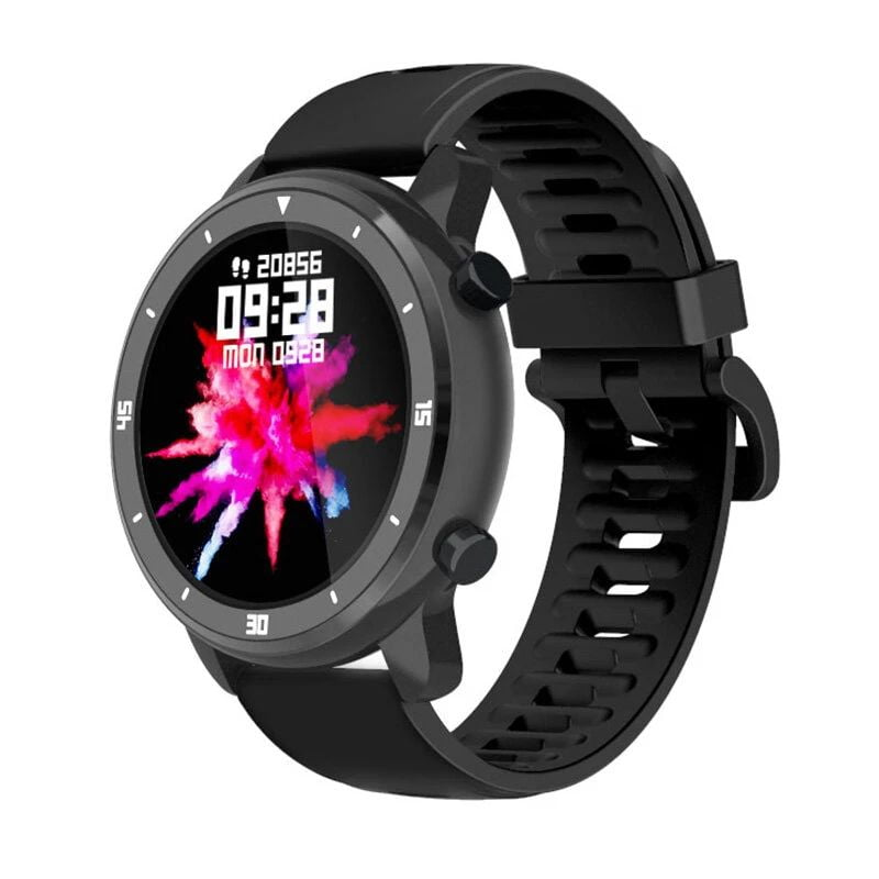 Bakeey smartwatch M37 full touch screen heart rate blood pressure monitor (12)