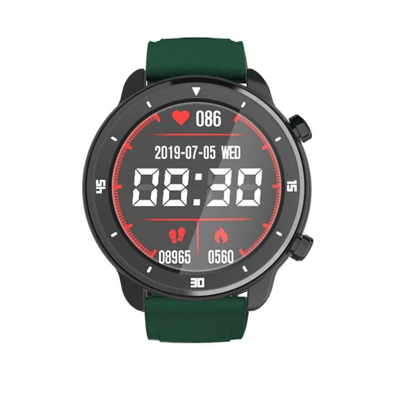 Bakeey smartwatch M37 full touch screen heart rate blood pressure monitor (13)