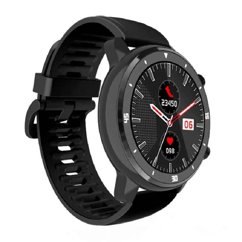 Bakeey smartwatch M37 full touch screen heart rate blood pressure monitor (14)