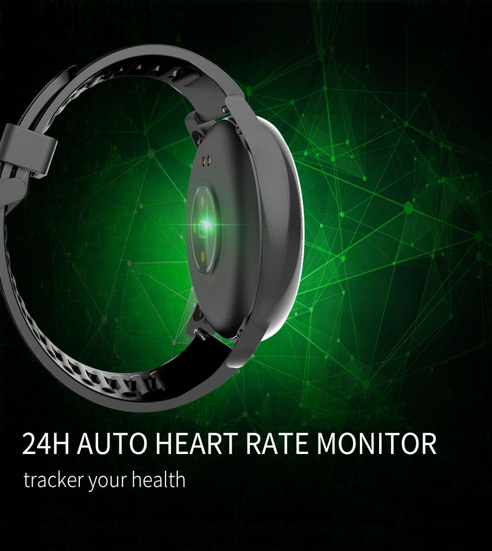M37 full touch screen heart rate blood pressure monitor (18)