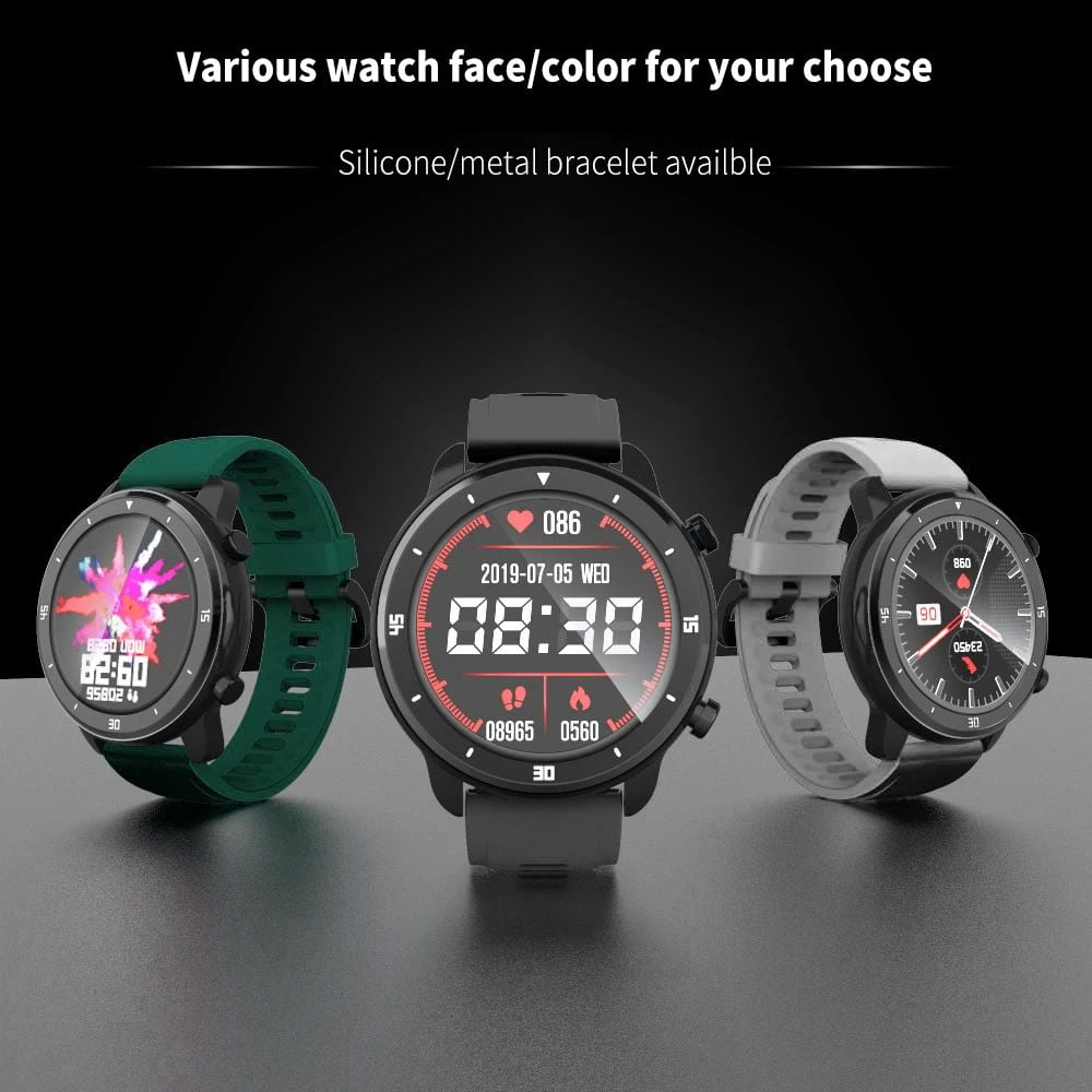 M37 full touch screen heart rate blood pressure monitor (2)