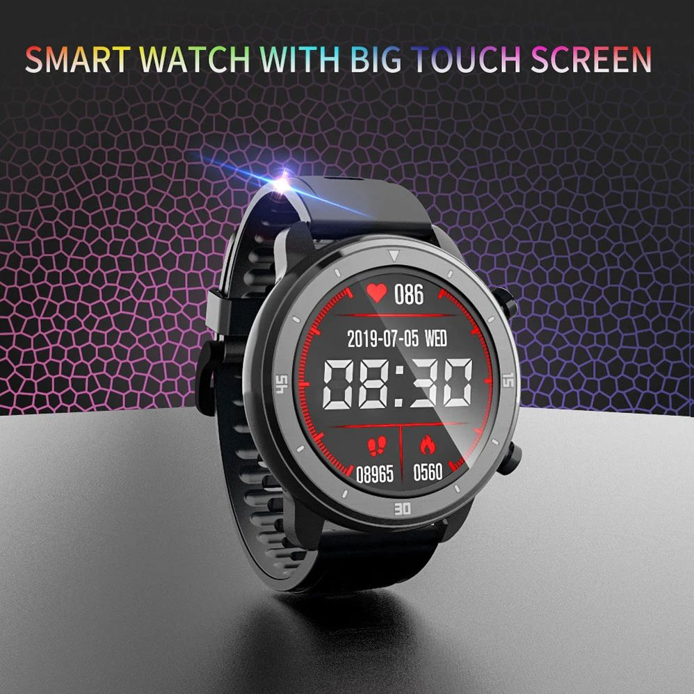 M37 full touch screen heart rate blood pressure monitor (6)