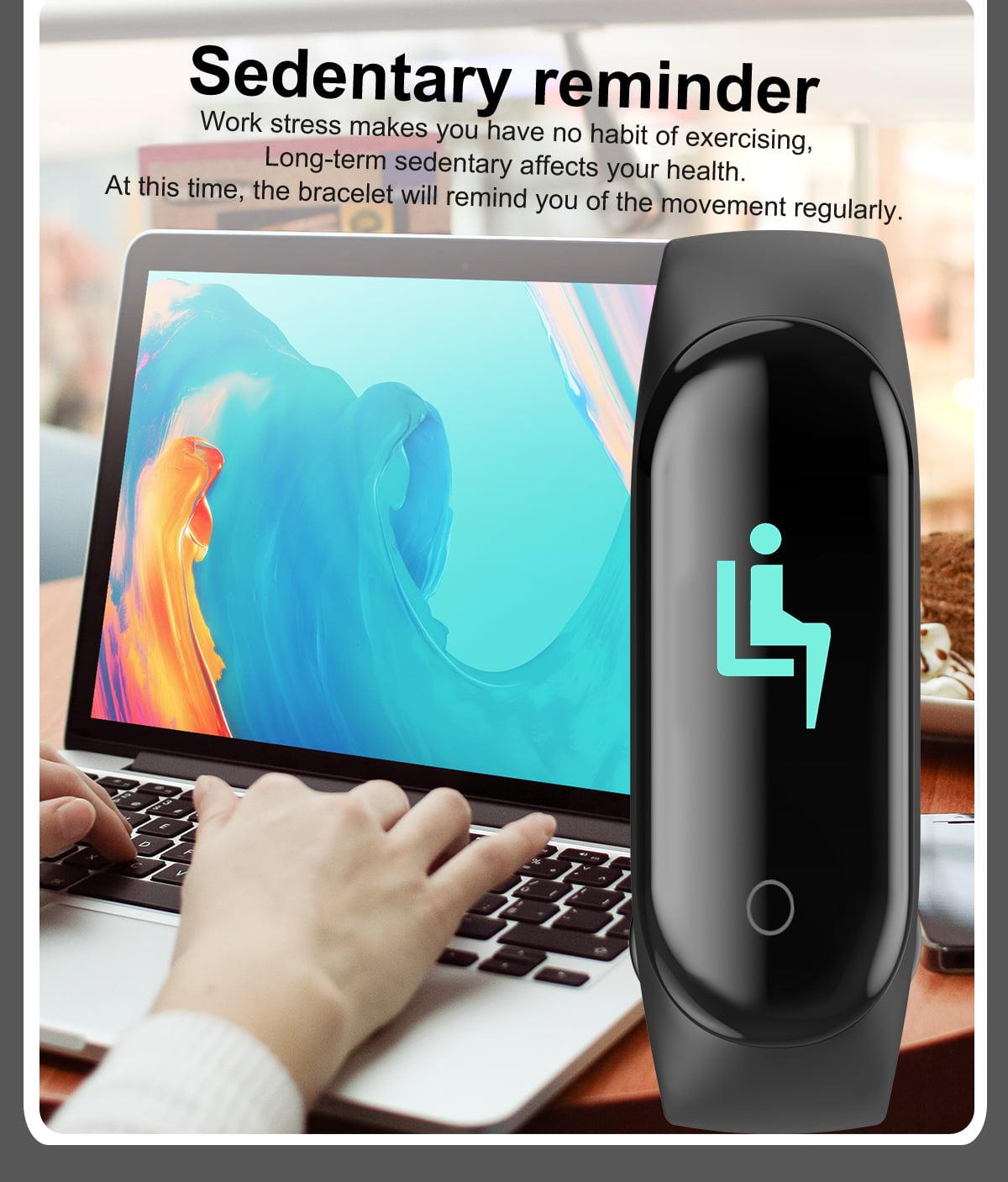 M4 max wristband color screen ip67 blood pressure o2 smart (1)