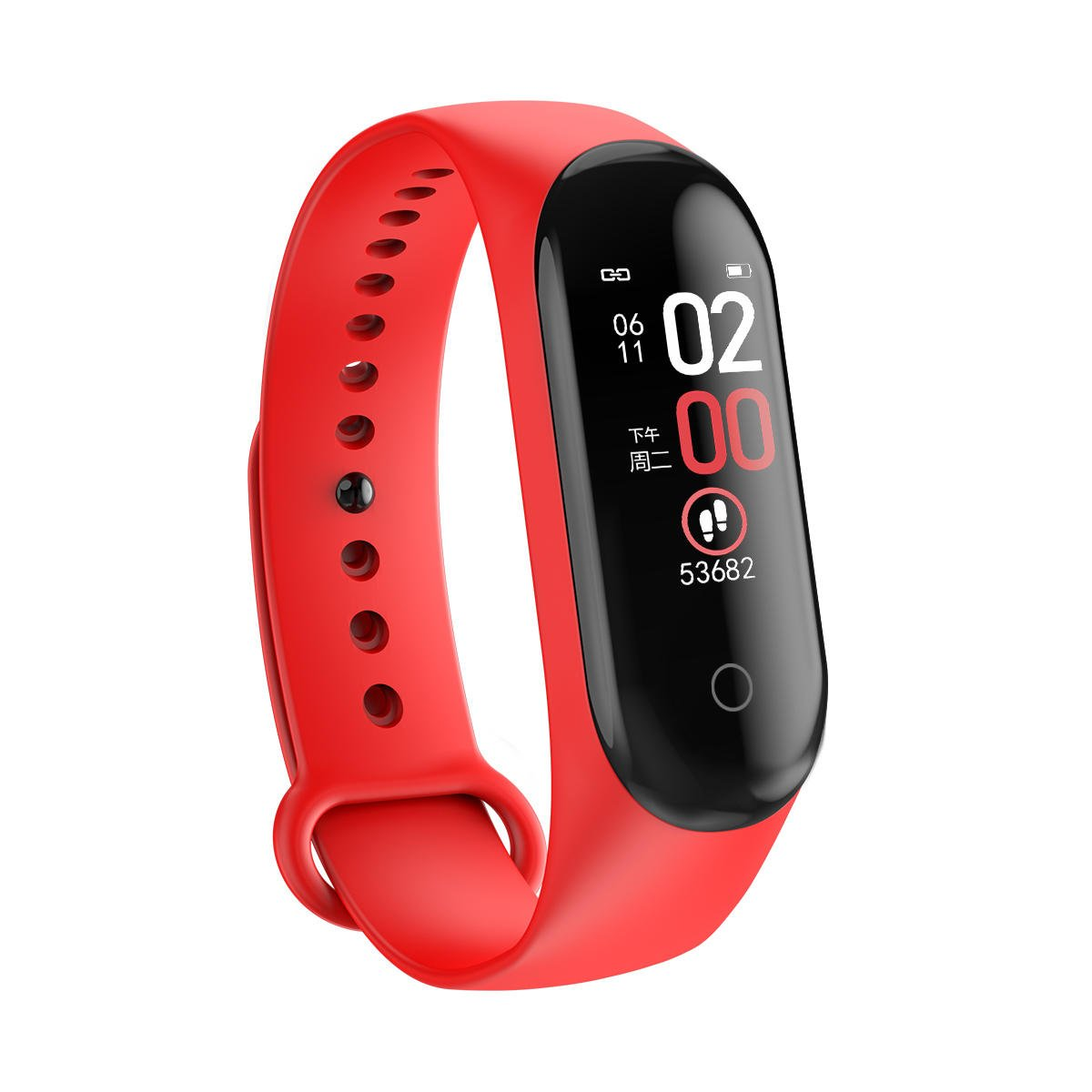 M4 max Smart watch wristband color screen ip67 blood pressure o2 smart (13)