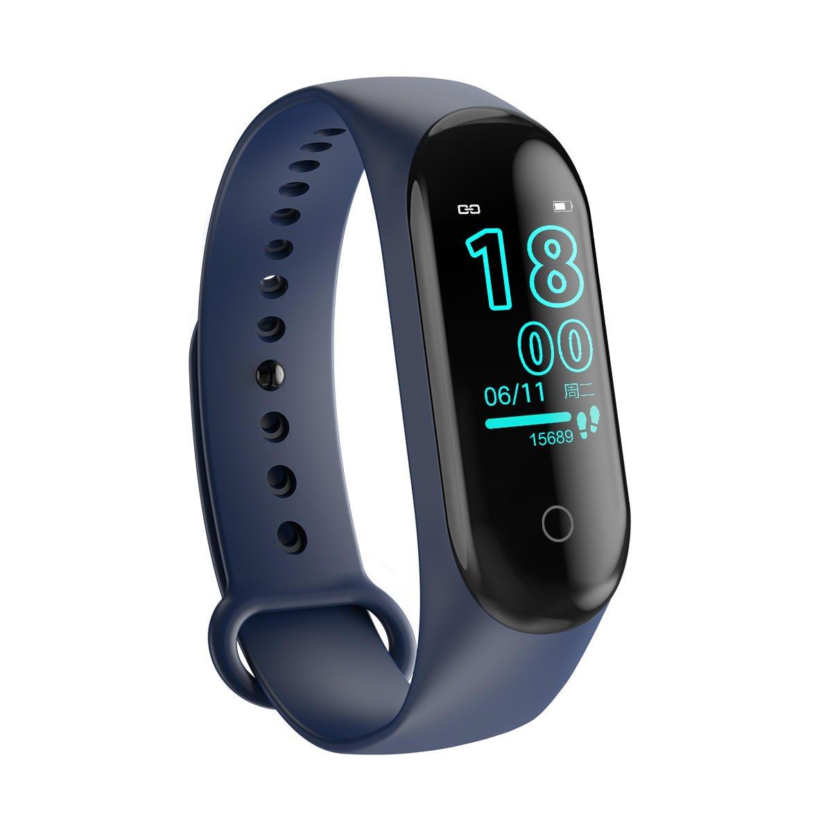 M4 max wristband color screen ip67 blood pressure o2 smart (14)