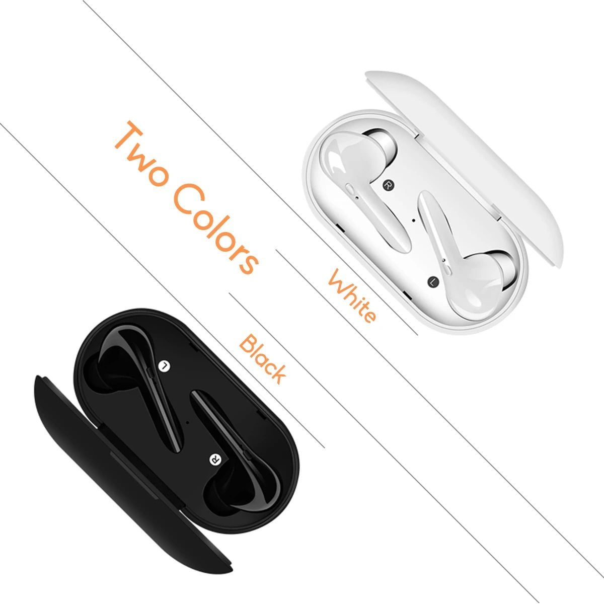 M6s tws earphone wireless bluetooth 5.0 earbuds (1)
