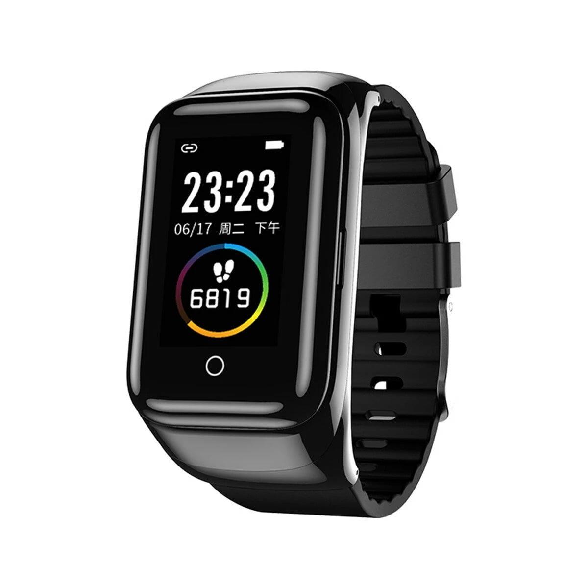 M7 TWS Earphone bluetooth with Smart Watch (10)