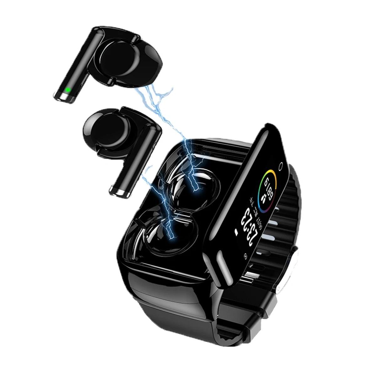 M7 TWS Earphone bluetooth with Smart Watch (16)