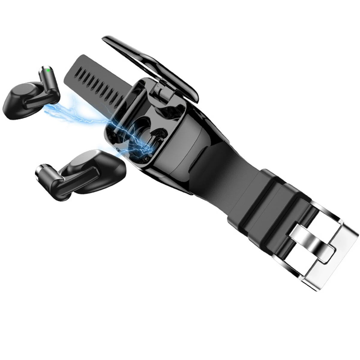 M7 TWS Earphone bluetooth with Smart Watch (17)