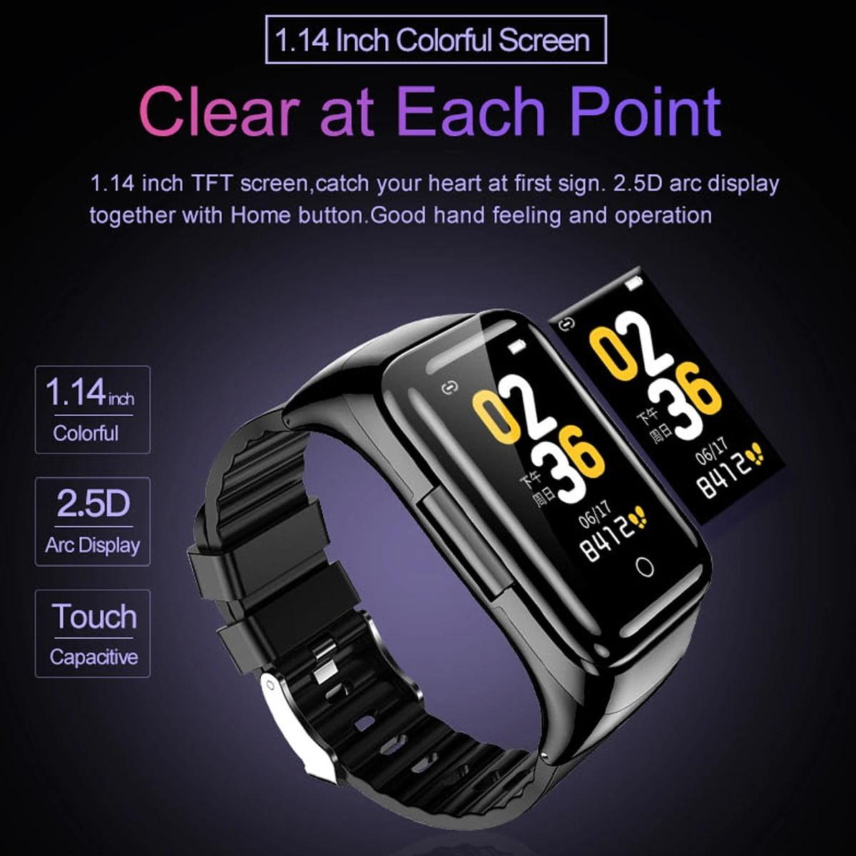 M7 TWS Earphone bluetooth with Smart Watch (20)
