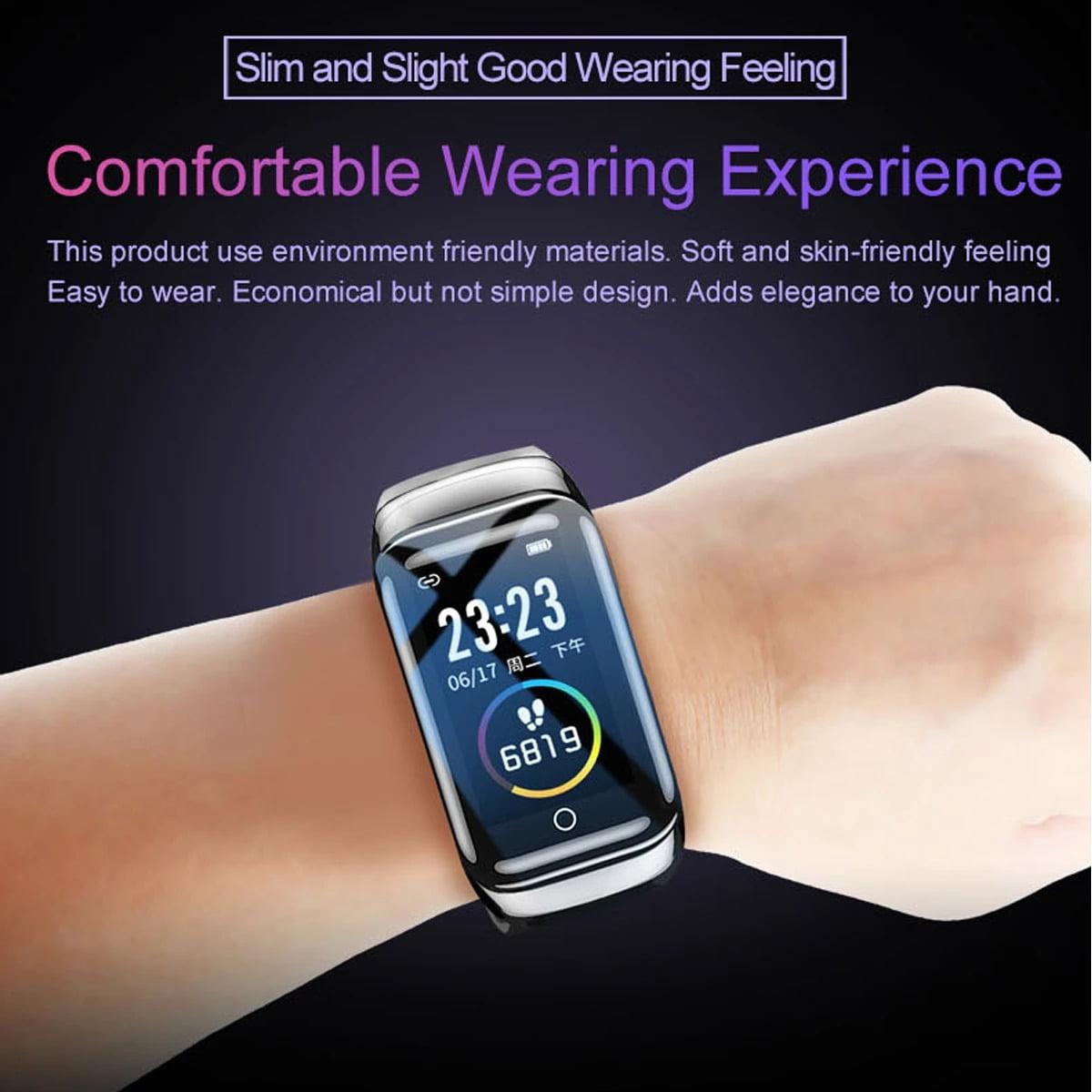 M7 TWS Earphone bluetooth with Smart Watch (7)