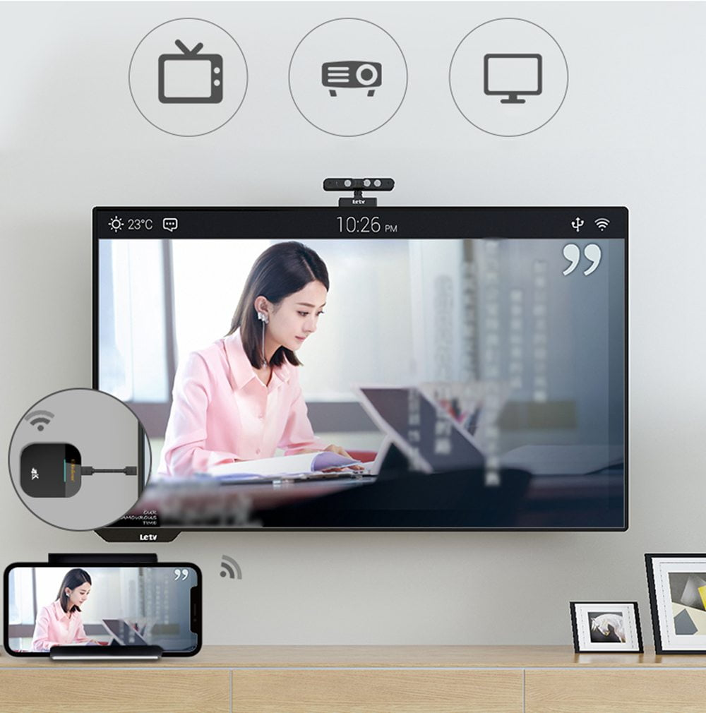 Mirascreen G5 plus 2.4G 5G wireless 4k hd h.265 display dongle (18)
