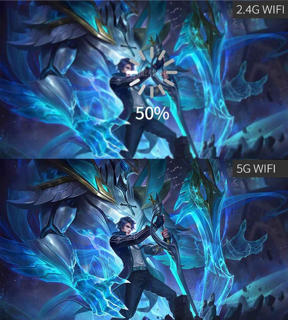 Mirascreen G5 plus 2.4G 5G wireless 4k hd h.265 display dongle (9)