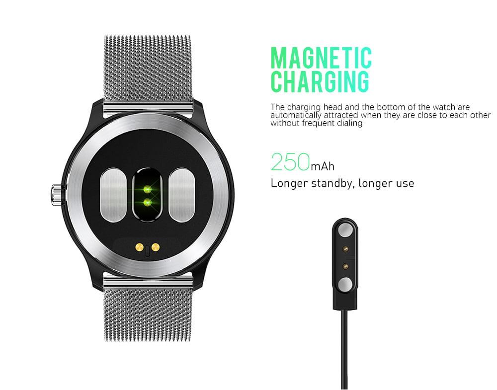 N58 ecg Smart Watch display stainless steel hr sleep monitor (12)