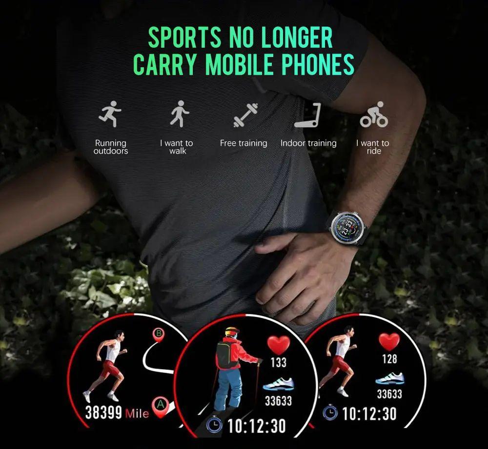 N58 ecg Smart Watch display stainless steel hr sleep monitor (13)
