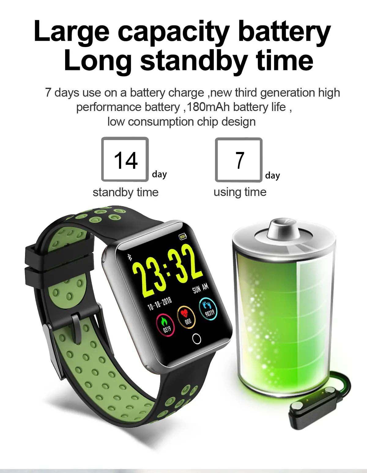 Q81 1.54 hd color screen smart bracelet hr monitor Wholesale (18)