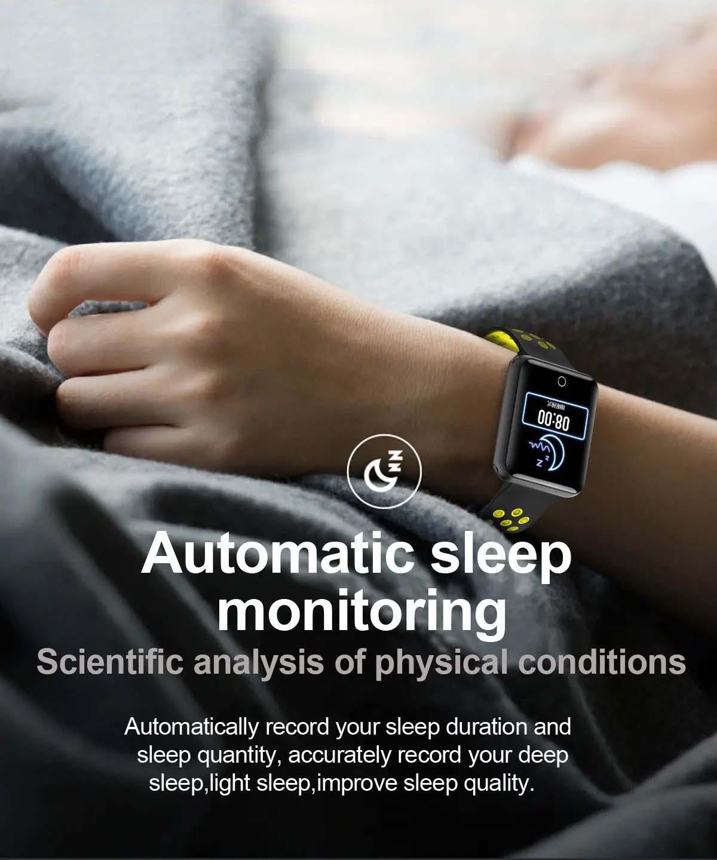 Q81 1.54 hd color screen smart bracelet hr monitor Wholesale (19)