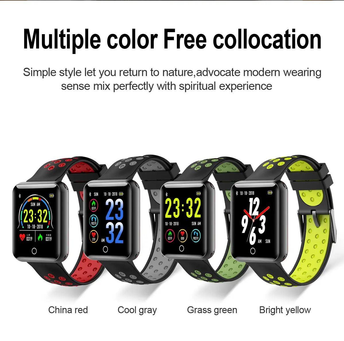 Q81 1.54 hd color screen smart bracelet hr monitor Wholesale (2)
