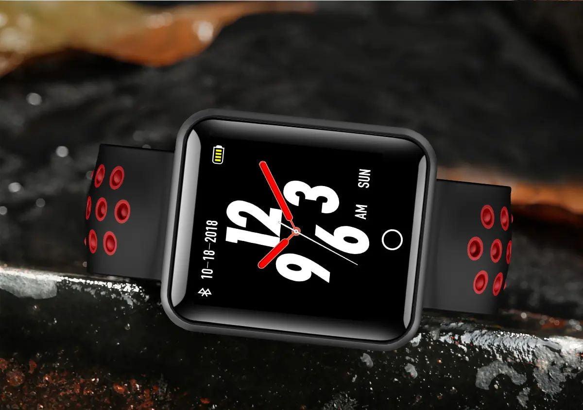 Q81 1.54 hd color screen smart bracelet hr monitor Wholesale (13)