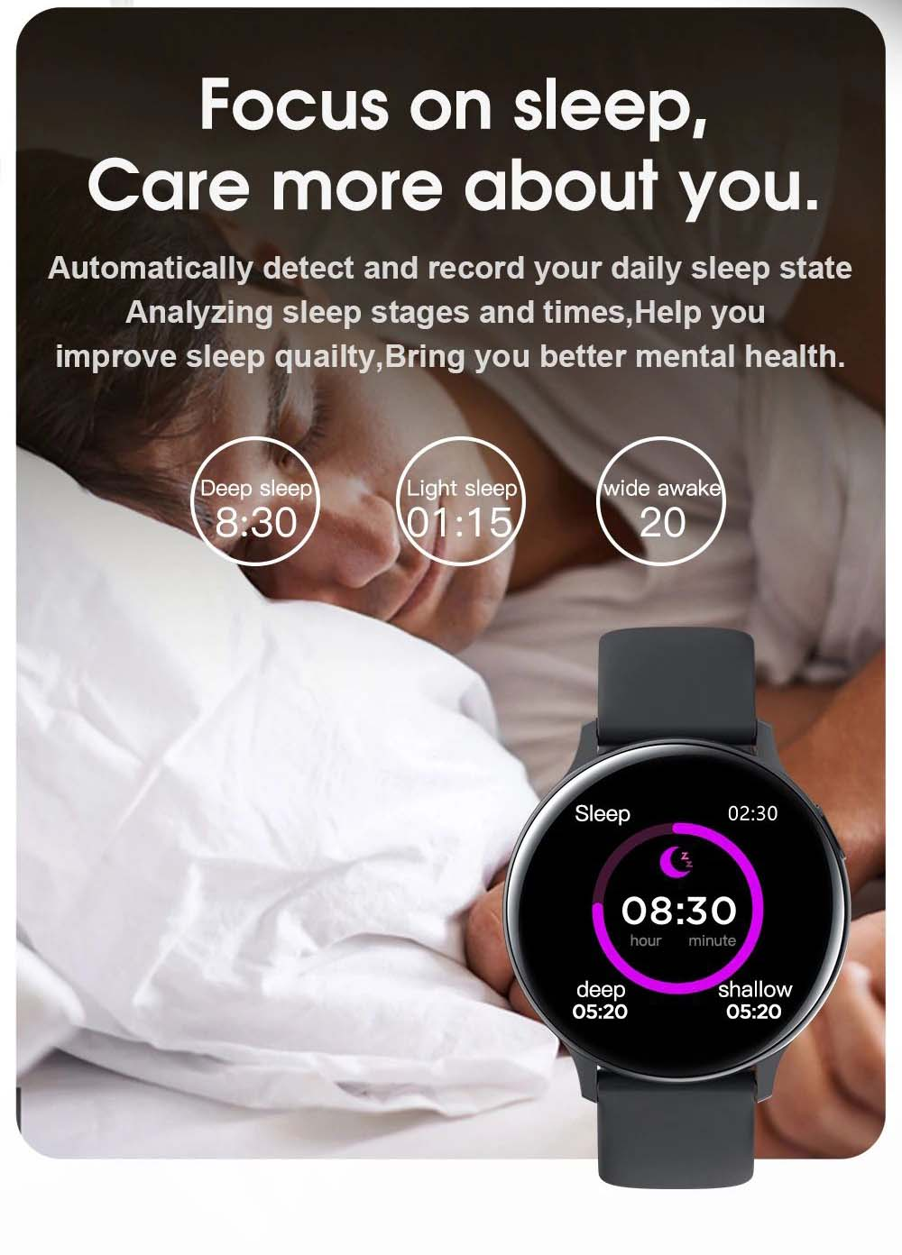 S20 ECG monitor smart watch heart rate monitor blood pressure (12)