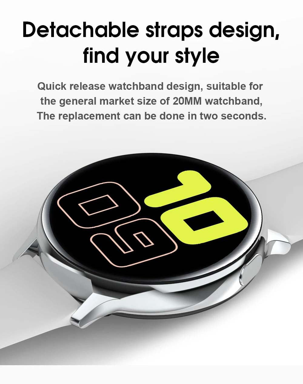 S20 ECG monitor smart watch heart rate monitor blood pressure (13)