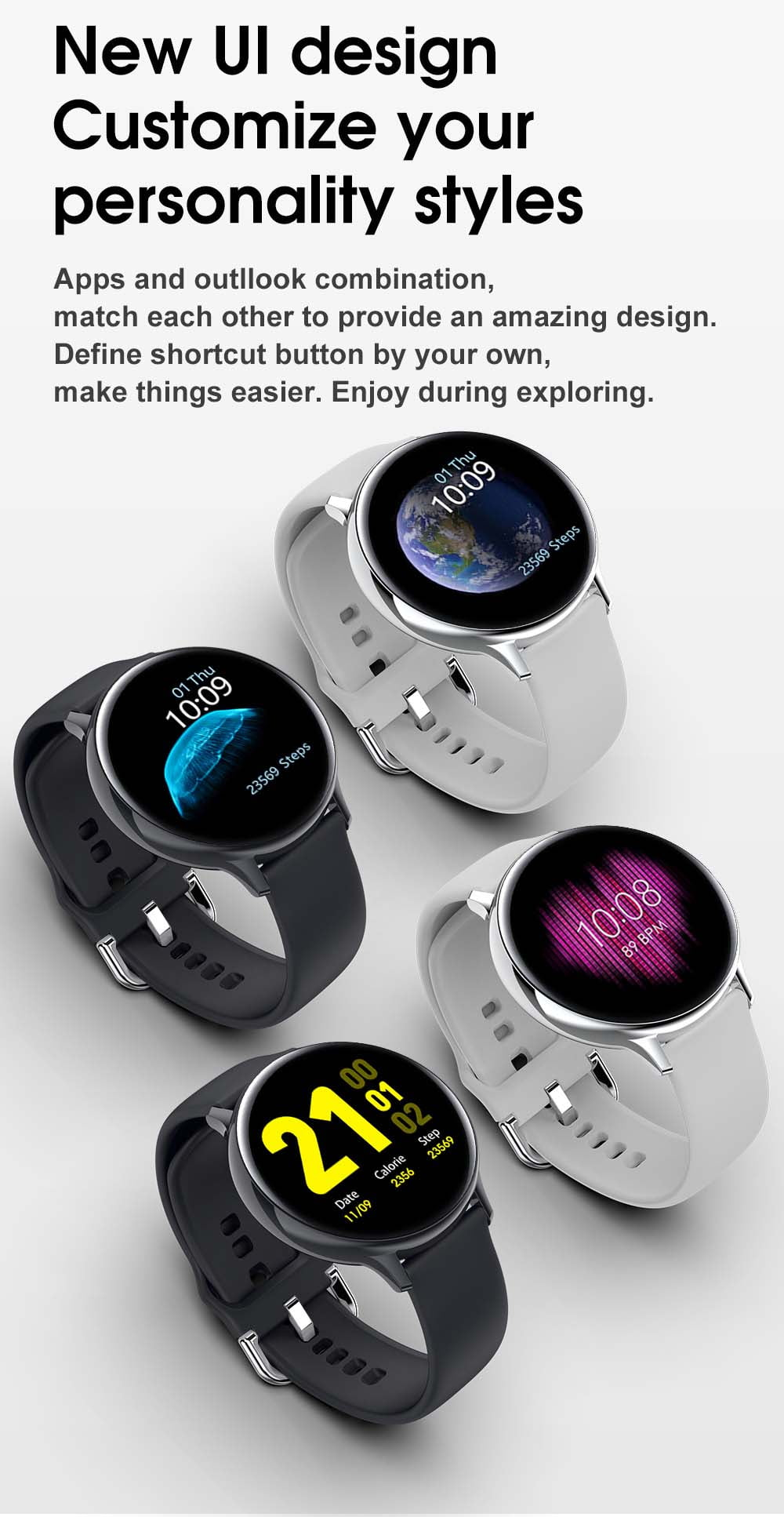 S20 ECG monitor smart watch heart rate monitor blood pressure (8)