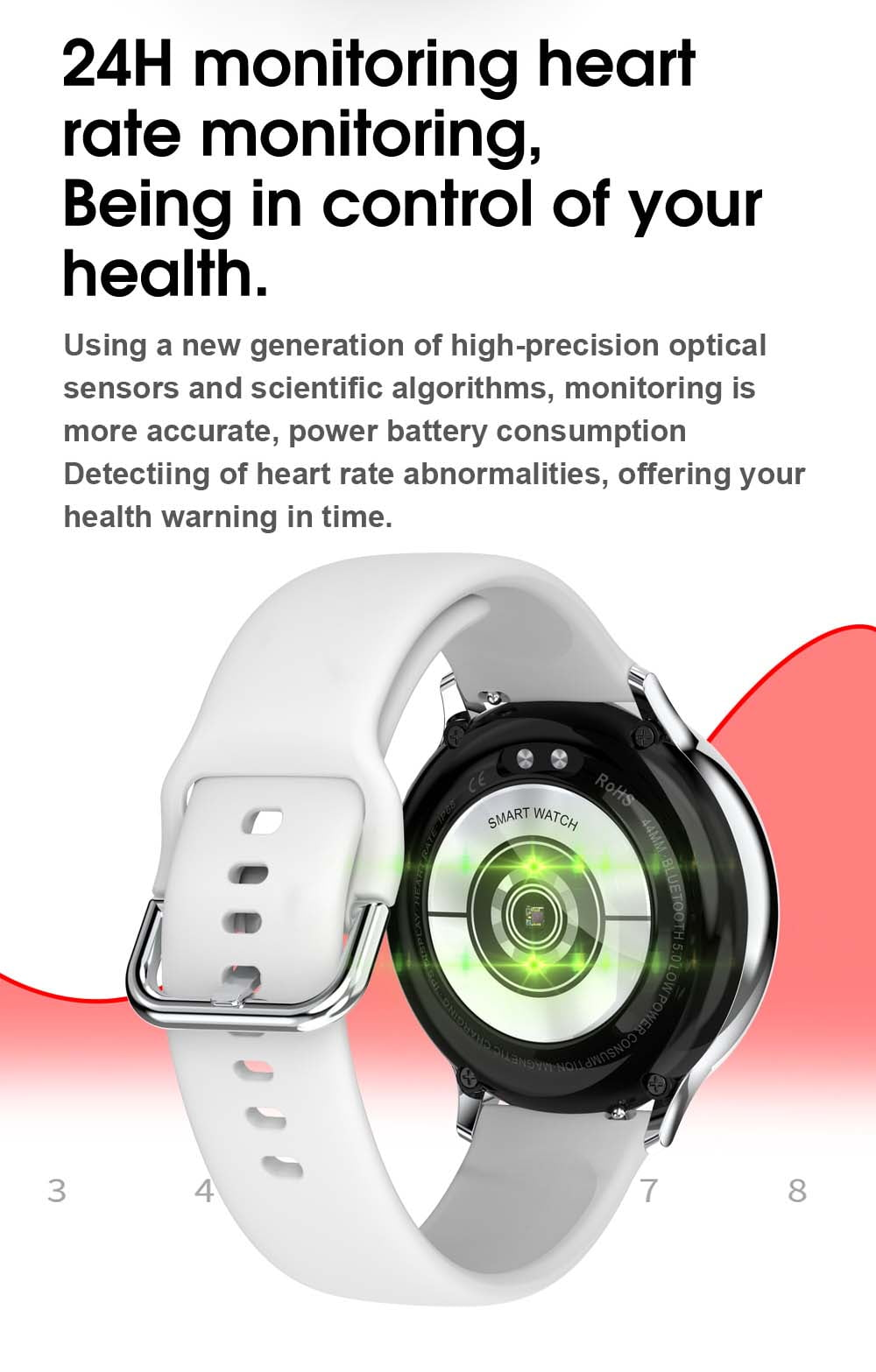 S20 ECG monitor smart watch heart rate monitor blood pressure (9)