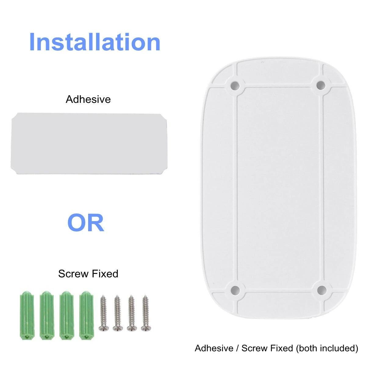 SH02 Smart Wireless Doorbell Lens Video HD Security Camera Night Vision App Control (8)