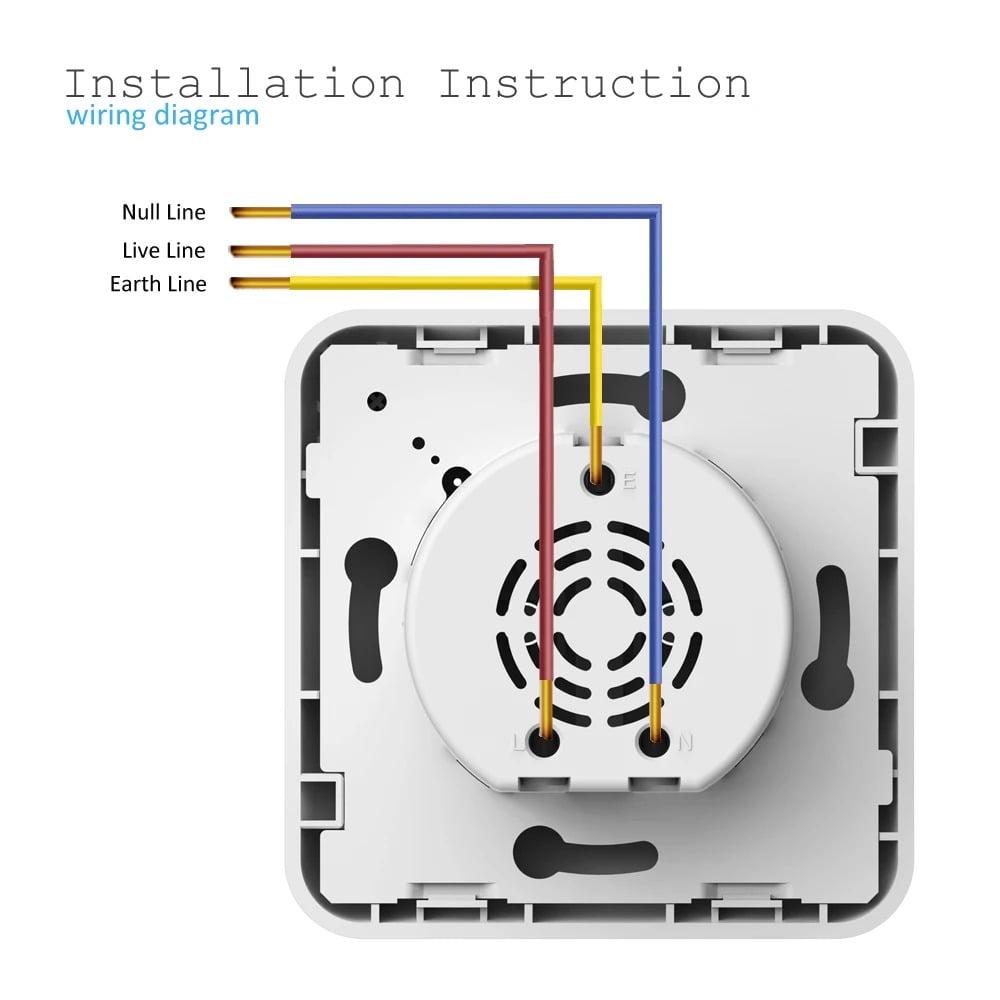 SP25Q 2500W 10A Dual USB Fast Charging Auto Power Off Smart Wireless Socket (11)