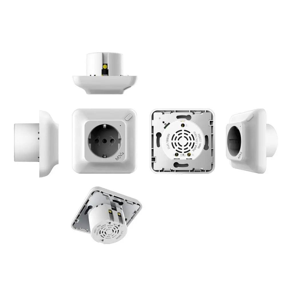 SP25Q 2500W 10A Dual USB Fast Charging Auto Power Off Smart Wireless Socket (5)